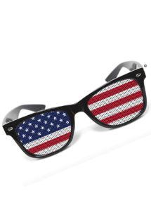 lunettes drapeau américain, accessoire américain déguisement, accessoire états unis déguisement, lunettes drapeaux, lunettes de supporter déguisement, lunettes de déguisement, Lunettes Drapeau Américain