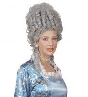 Perruque Marie Antoinette, Grise