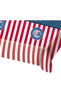 nappe drapeau américain, décoration drapeau américain, vaisselle états unis, décos américaines déguisement, accessoire drapeau américain décoration, Vaisselle Etats Unis, Nappe Drapeau Américain