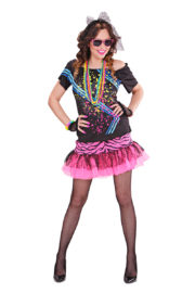 déguisement disco femme, robe disco déguisement, costume disco femme, costume années 80 femme, déguisement années 80 femme, déguisement disco pas cher, déguisement disco femme, soirée années 80 déguisement, déguisement femme Déguisement Disco Années 80, Rock Girl
