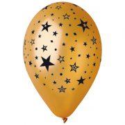 ballon hélium, ballon de baudruche, ballon en latex, ballon de fête, ballon étoiles, ballons argenté, ballons réveillons Ballon en Latex, Etoiles Métal Or