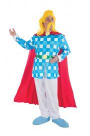 déguisement assurancetourix, déguisement homme, déguisement barde asterix, déguisement bande dessinée, costume barde assurancetourix, déguisement asterix et obelix Déguisement Assurancetourix, Licence Officielle
