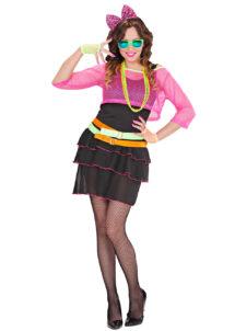 déguisement années 80 femme, costume années 80 femme, déguisement soirée années 80, Déguisement Années 80, Groupie Girl