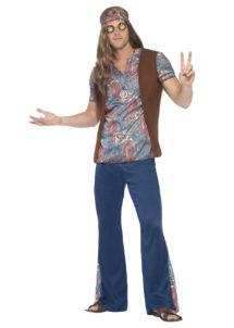 déguisement de hippie homme, costume hippie homme, déguisement hippie adulte, déguisement peace and love homme, déguisement années 70 homme, déguisement années 70 adulte, Déguisement Hippie, Orion
