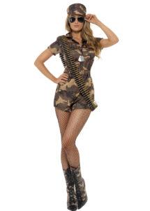 déguisement militaire femme, déguisement camouflage femme, costume militaire femme, costume militaire déguisement femme, déguisement militaire treillis femme, Déguisement Militaire, Shorty