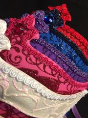 masque brillant, masque vénitien paillettes, masque vénitien, loup vénitien, masque carnaval de venise, véritable masque vénitien, accessoire carnaval de venise, déguisement carnaval de venise, loup vénitien fait main Vénitien, Civette Diadème