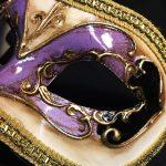 masque vénitien, loup vénitien déguisement, masque venitien homme, acheter masque vénitien paris, masque vénitien femme, boutique masque vénitien paris, masque vénitien fait main Vénitien, Civette Décor, Violet Lilas
