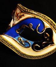 masque vénitien, loup vénitien déguisement, masque venitien homme, acheter masque vénitien paris, masque vénitien femme, boutique masque vénitien paris, masque vénitien fait main Vénitien, Civette Décor, Bleu