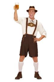 déguisement bavarois homme, costume bavarois homme, déguisement tyrolien homme, costume tyrolien homme, salopette bavaroise déguisement, déguisement homme, déguisement fête de la bière, déguisement oktoberferst Déguisement Bavarois, Lederhosen et Chemise