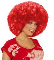 perruque afro disco, accessoire perruque déguisement, perruque afro disco, perruque pour homme, perruque pour femme, perruque pas chère, perruque de déguisement, perruque unisexe, perruque rouge, perruque afro, perruque de clown Perruque Afro Disco, Rouge