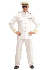 déguisement de capitaine marine, déguisement marin homme, costume de marin homme, déguisement capitaine de la marine, costume capitaine marine, déguisement marin navy, accessoire marin déguisement Déguisement Marin, Capitaine de Navy, Blanc