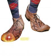 chaussures de clown, accessoire déguisement, accessoire clown déguisement, accessoires déguisement clown, fausses chaussures de clown Chaussures de Clown, Orteil Lumineux