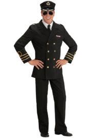 déguisement de capitaine marine, déguisement marin homme, costume de marin homme, déguisement capitaine de la marine, costume capitaine marine, déguisement marin navy, accessoire marin déguisement Déguisement Marin, Officier de Navy, Bleu Marine