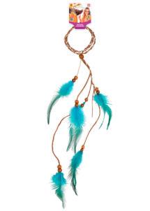 bandeau à plumes, bandeau hippie, bandeau indienne, Bandeau à Plumes, Indienne ou Hippie