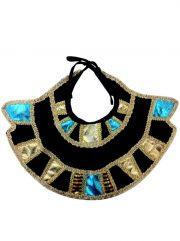 accessoire égyptien déguisement, collier cléoaptre déguisement, déguisement cléopatre accessoire, col égyptienne déguisement, accessoire costume égyptienne, faux col cléopatre déguisement, déguisement égyptienne accessoires, accessoires déguisement égypte Col Egyptien, Cléopatre
