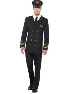 déguisement de capitaine marine, déguisement marin homme, costume de marin homme, déguisement capitaine de la marine, costume capitaine marine, déguisement marin navy, accessoire marin déguisement, Déguisement de Marin, Officier de Navy, Bleu Marine