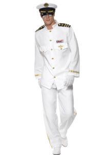 déguisement de capitaine marine, déguisement marin homme, costume de marin homme, déguisement capitaine de la marine, costume capitaine marine, déguisement marin navy, accessoire marin déguisement, Déguisement de Marin, Capitaine de Navy, Blanc