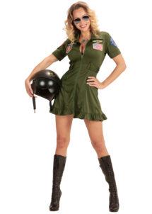 déguisement pilote femme, déguisement top gun femme, déguisement pilote de chasse, costume pilote de chasse femme, Déguisement de Pilote de Chasse, Top Gun Sexy