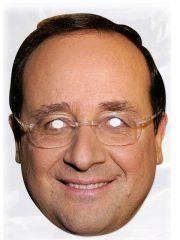 masque célébrités carton, masque politique carton, masque politique déguisement, masque célébrité déguisement, masque françois hollande, masque hollande déguisement, masques déguisements, masque politique photo Masque François Hollande