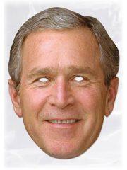 masque célébrités carton, masque politique carton, masque politique déguisement, masque célébrité déguisement, masque georges bush, masque bush déguisement, masques déguisements, masque politique photo Masque Georges W. Bush