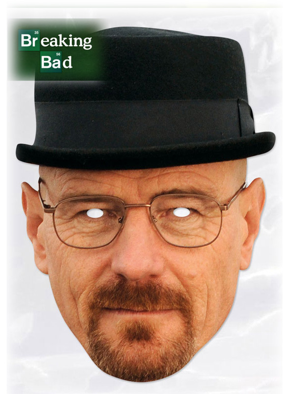 masque heisenberg walter white breaking bad aux feux de la f te paris. Black Bedroom Furniture Sets. Home Design Ideas