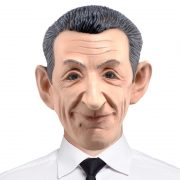 masque célébrités déguisement, masque politique, masque politique déguisement, masque célébrité déguisement, masque nicolas sarkozy, masque sarkozy déguisement, masques déguisements, masque politique réaliste, masque politique en latex Masque Nicolas Sarkozy, en Latex