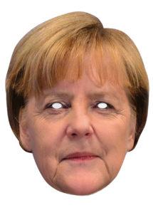 masque célébrités carton, masque politique carton, masque politique déguisement, masque célébrité déguisement, masque angela merkel, masques déguisements, masque politique photo, Masque Angela Merkel