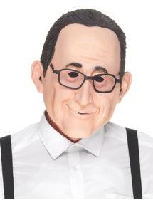 masque François hollande, masque politique, masque président, masque hollande, Masque François Hollande, en Latex