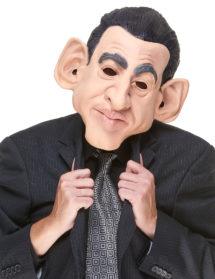 masque Nicolas Sarkozy, masque latex président, masques politiques, masques personnalités, masque Sarkozy, Masque Nicolas Sarkozy, en Latex