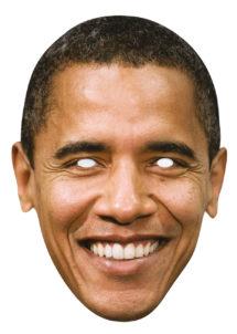masque barack obama, masque obama, masque politique, masque célébrités, masque carton, Masque Barack Obama