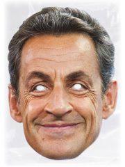 masque célébrités carton, masque politique carton, masque politique déguisement, masque célébrité déguisement, masque nicolas sarkozy, masque sarkozy déguisement Masque Nicolas Sarkozy