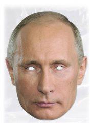 masque célébrités carton, masque politique carton, masque politique déguisement, masque célébrité déguisement, masque vladimir poutine, masque poutine déguisement, masques déguisements, masque politique photo Masque Vladimir Poutine