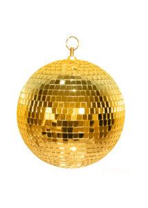 boule disco, décorations disco, décos année 80, boules discos, boules à facettes,, Boule à Facettes, Boule Disco Dorée