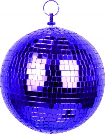 Boule à Facettes, Boule Disco Violette - Aux Feux de la Fête - Paris