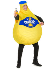 déguisement bouteille, déguisement orangina, déguisement humour orangina, costume d'orangina, déguisement original, déguisement de bouteille, déguisement comique, Déguisement Bouteille d'Orangina