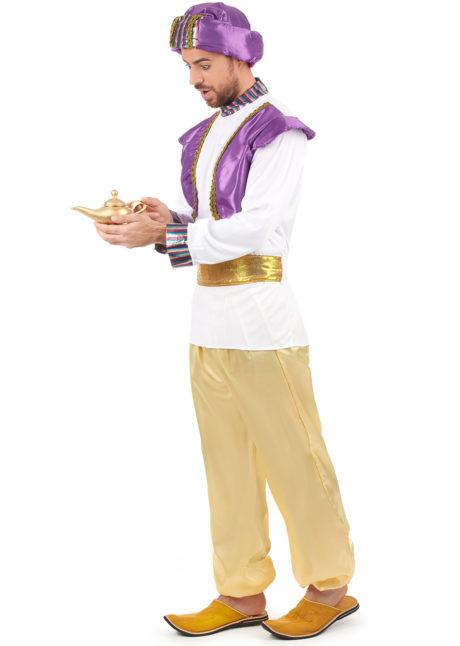 déguisement oriental, déguisement sultan oriental homme, déguisement génie oriental homme, déguisement Aladin, costume d'Aladin homme, Déguisement de Génie Oriental