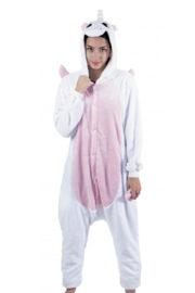 déguisement licorne, kigurumi, déguisement kigurumi, kigurumi licorne bleue, pyjama kigurumi, pyjama licorne bleue, déguisement kigurumi licorne Déguisement Kigurumi Licorne, Blanche
