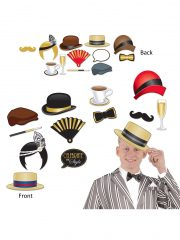 kit Photobooths, accessoires années 20, kits photos années 30, moustaches pour photos, accessoire déguisement photos, accessoires déguisements Kit Photo Booth, Gatsby