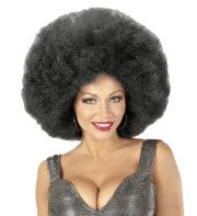 perruque afro disco, accessoire perruque déguisement, perruque afro disco, perruque pour homme, perruque pas chère, perruque de déguisement, perruque homme, perruque noire, perruque afro Perruque Afro Extra Volume, Noire