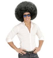perruque afro disco, accessoire perruque déguisement, perruque afro disco, perruque pour homme, perruque pas chère, perruque de déguisement, perruque homme, perruque noire, perruque afro Perruque Afro Extravolume, Noire