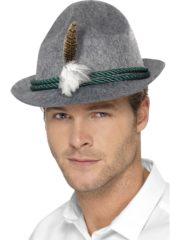 chapeau bavarois, chapeaux tyroliens, accessoires déguisement bavarois, chapeaux tyrol, chapeaux paris, chapeau oktoberfest Chapeau de Bavarois, avec Plume