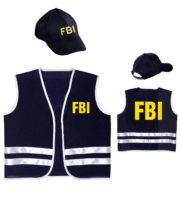 déguisement policier enfant, déguisement fbi garçon, fbi déguisement enfant, déguisement police enfant, déguisements mardi gras, déguisement policier pour enfant Déguisement Kit FBI, Fille et Garçon