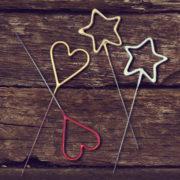 cierge magique, cierges magiques étoiles, cierges magiques coeurs Cierge Magique Etoile, Cierge Magique Coeur
