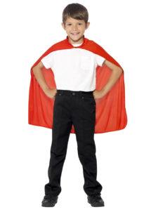 cape rouge pour enfant, cape rouge déguisement, cape déguisement halloween, cape de super héros enfant, Cape Rouge de Super Héros, Enfant