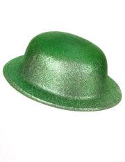 chapeaux melons, chapeaux paillettes, chapeau melon, chapeaux de fête, accessoires chapeaux melons saint patrick, chapeau vert, saint patrick Chapeau Melon à Paillettes, Vert