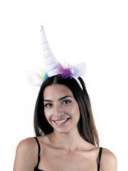 licorne déguisement, déguisement de licorne, accessoire licornes, serre tete de licorne, corne de licorne déguisement, déguisement de licornes Corne de Licorne Blanche avec Tulle