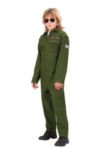 déguisement de pilote enfant, déguisement pilote de chasse pour garçon, déguisement pilote garçon, costume pilote de chasse enfant, déguisement mardi gras enfant, déguisement mardi gras garçon, déguisement pilote, déguisement carnaval enfant, Déguisement de Pilote de Chasse, Top Gun Garçon