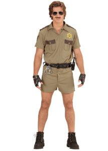 déguisement de policier adulte, déguisement police homme, costume police miami homme, déguisement policier américain, déguisement années 90, costume policier américain, déguisement police, Déguisement de Policier Californien