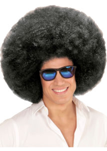 perruque disco, perruque afro noire, perruque disco homme, Perruque Afro Extravolume, Noire