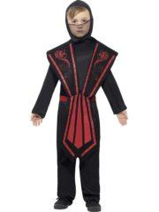 déguisement de ninja enfant, déguisement ninja garçon, déguisement enfant, déguisements pour garçon, déguisement ninja carnaval Déguisement de Ninja Noir et Rouge, Garçon